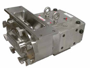 Ampco ZP pump with rectangular flange inlet