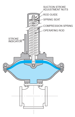 ODS Pump: Spring-Assisted Variant Diagram