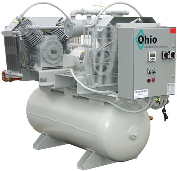 ohio medical oil less reciprocating piston air compressor systems ohio medical air compressor tank configuration request a quote • request information
