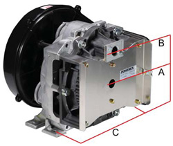 Ohio Medical Oil Less Reciprocating Scroll Air Compressors