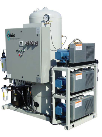 ohio medical oil less rotary scroll air systems dessicant ohio medical rotary scroll medical air system stack mounted triplex configuration request information